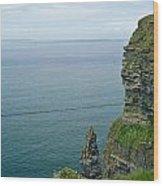 cliffs of Moher 36 Wood Print