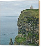 cliffs of Moher 37 Wood Print