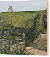 cliffs of Moher 38 Wood Print
