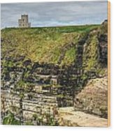 cliffs of Moher 40 Wood Print