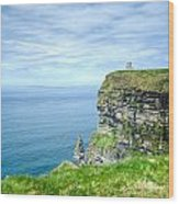Cliffts Of Moher 1 Wood Print