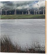 Climate Changed Storm Wood Print