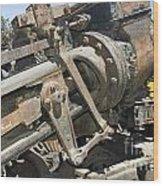 Climax Locomotive Wood Print