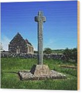 Cloncra Church, Inishowen Peninsula Wood Print