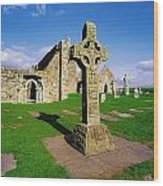 Clonmacnoise, Co Offaly, Ireland High Wood Print