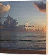 Cloud Menagerie Wood Print