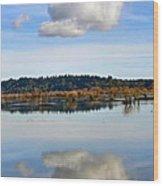 Cloud Wood Print