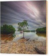 Cloud Zoom 3.0 Wood Print