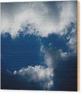Clouds - Nubes Wood Print