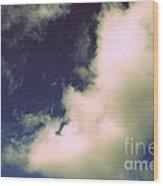 Clouds-11 Wood Print