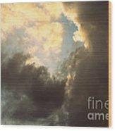 Clouds-4 Wood Print
