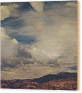 Clouds Please Carry Me Away Wood Print