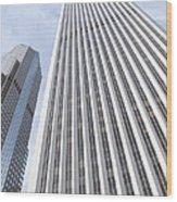 Cloudscraper Wood Print