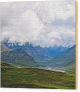 Cloudy Bravado Wood Print