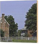 Clover Hill Tavern And Kitchen Appomattox Virginia Wood Print