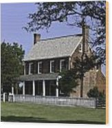 Clover Hill Tavern Appomattox Virginia Wood Print by Teresa Mucha