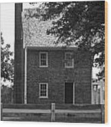 Clover Hill Tavern Guesthouse Bw Wood Print