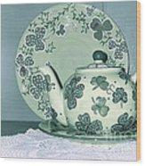 Clover Tea  Wood Print