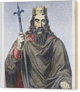 Clovis (c466-511) Wood Print