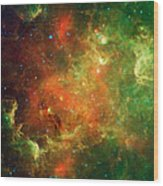 Clusters Of Young Stars In The North Wood Print