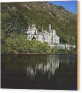 Co Galway, Kylemore Abbey Wood Print