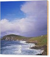 Co Kerry - Dingle Peninsula, Dunmore Wood Print
