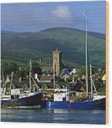 Co Kerry, Dingle Harbour Wood Print