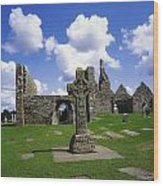 Co Offaly, Clonmacnoise Wood Print