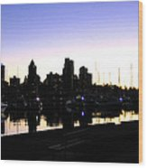 Coal Harbour Wood Print by Will Borden