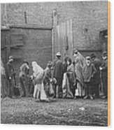 Coal Line, Nyc; 1902 Wood Print
