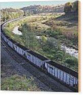 Coal Train - Johnstown  Wood Print