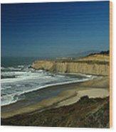 Coast 1 Wood Print