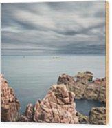 Coast Of North Wood Print