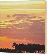 Coastal Sunset Boynton Beach Florida Wood Print