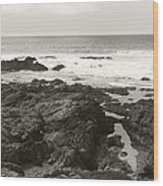 Coastal Tide Wood Print