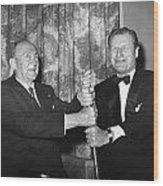Cobb & Rockefeller, 1960 Wood Print