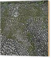 Cobblestone Wood Print