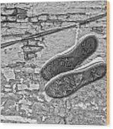 Codes Bricks And Roads  Wood Print