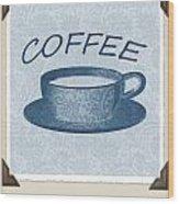 Coffee 1-2 Scrapbook Wood Print