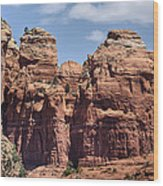 Coffee Pot Rock Formation Wood Print