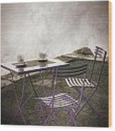 Coffee Table Wood Print