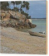 Coffin Bay Np Wood Print by David Barringhaus