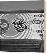 Coke At The Pier Wood Print