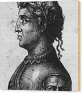 Cola Di Rienzo (1313-1354) Wood Print