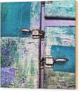 Cold Locker Wood Print