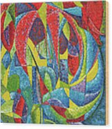 Colibri Wood Print by Joseph Edward Allen