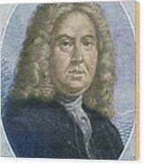 Colley Cibber, English Poet Laureate Wood Print