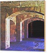 Color Arches Wood Print