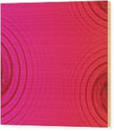 Color Chart One Wood Print