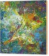 color explosion NO. Seventy Wood Print